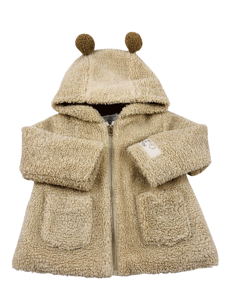 b37267b14 Zara Babygirl faux-fur coat 2-3 years